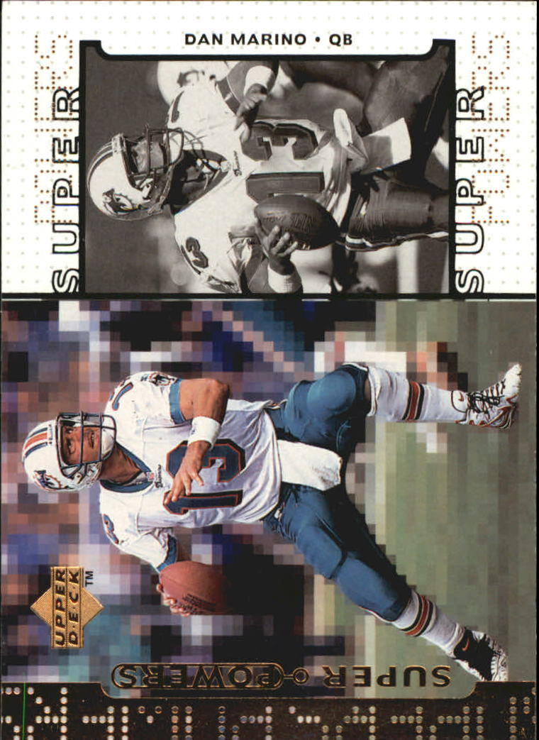 1998 Upper Deck Super Powers #S1 Dan Marino