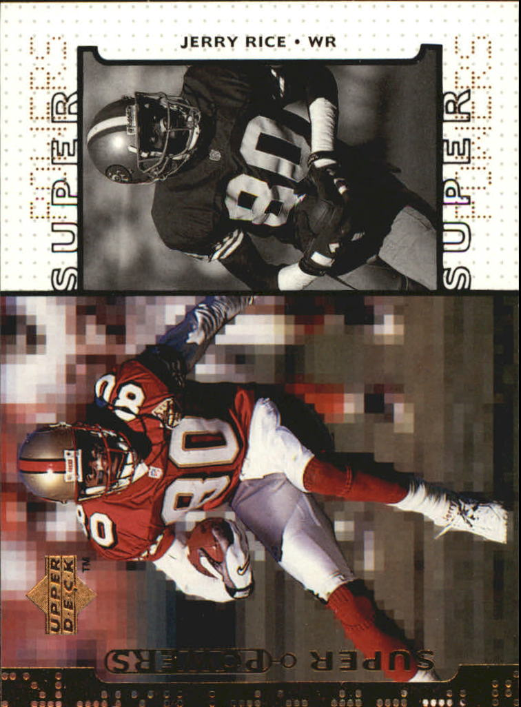 1998 Upper Deck Super Powers #S2 Jerry Rice