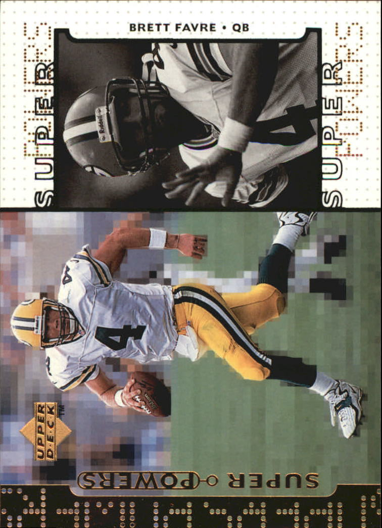 1998 Upper Deck Super Powers #S4 Brett Favre