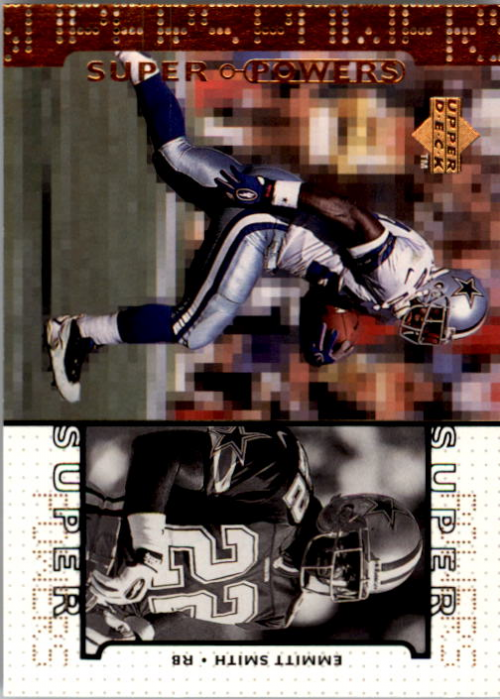1998 Upper Deck Super Powers #S22 Emmitt Smith front image