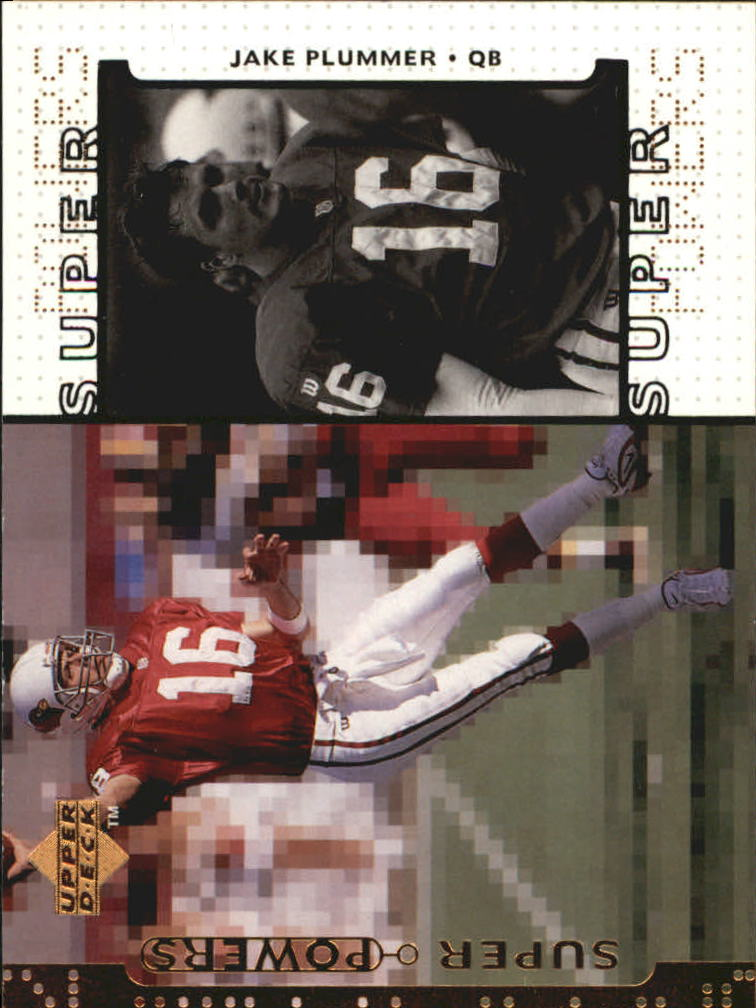 1998 Upper Deck Super Powers #S25 Jake Plummer