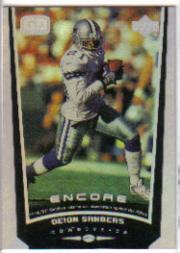 1998 Upper Deck Encore #61 Deion Sanders