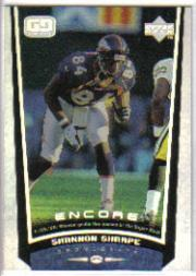 1998 Upper Deck Encore #65 Shannon Sharpe
