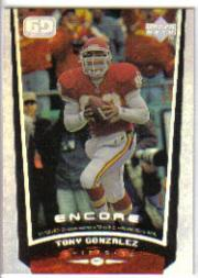1998 Upper Deck Encore #83 Tony Gonzalez