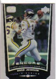 1998 Upper Deck Encore #89 Brad Johnson