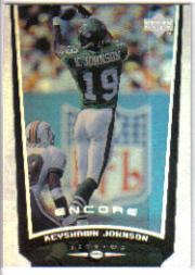1998 Upper Deck Encore #107 Keyshawn Johnson