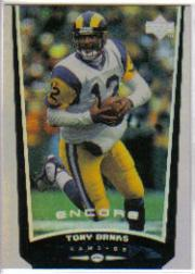 1998 Upper Deck Encore #120 Tony Banks