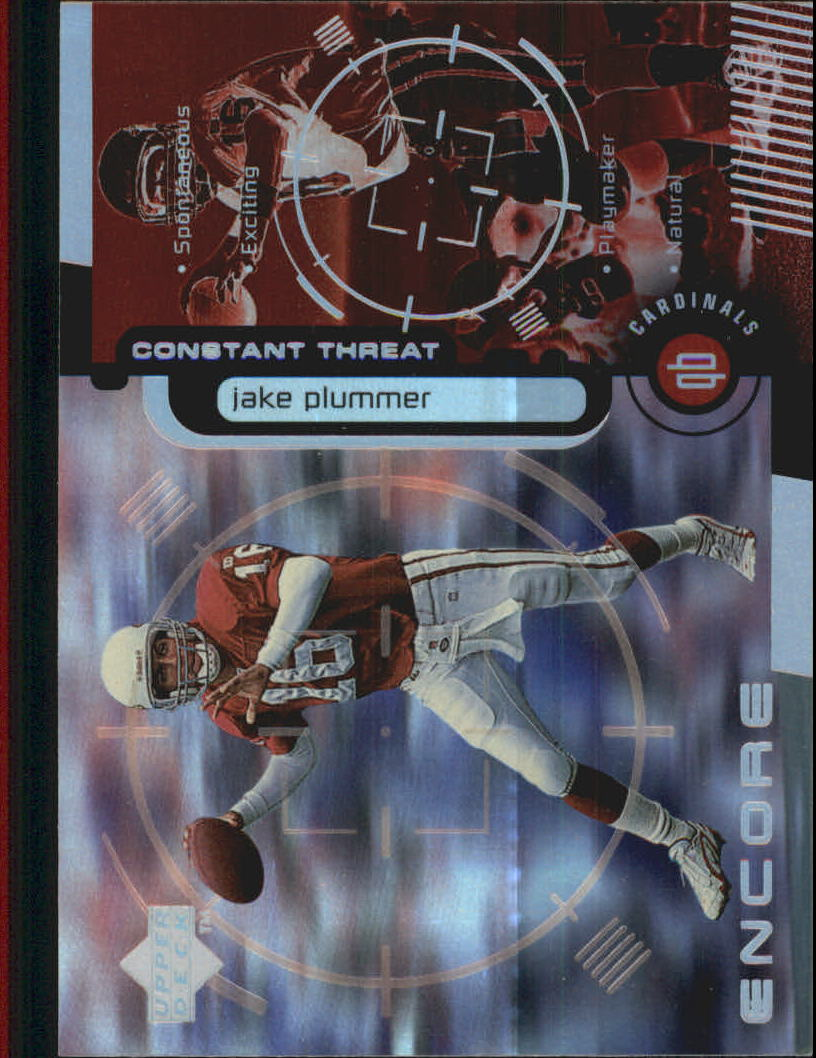 1998 Upper Deck Encore Constant Threat #CT8 Jake Plummer