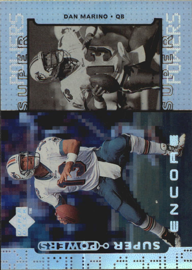1998 Upper Deck Encore Super Powers #S1 Dan Marino