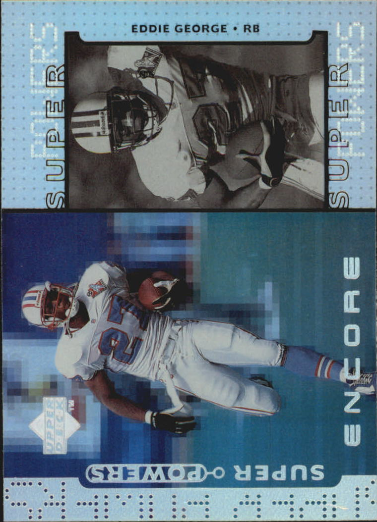 1998 Upper Deck Encore Super Powers #S11 Eddie George