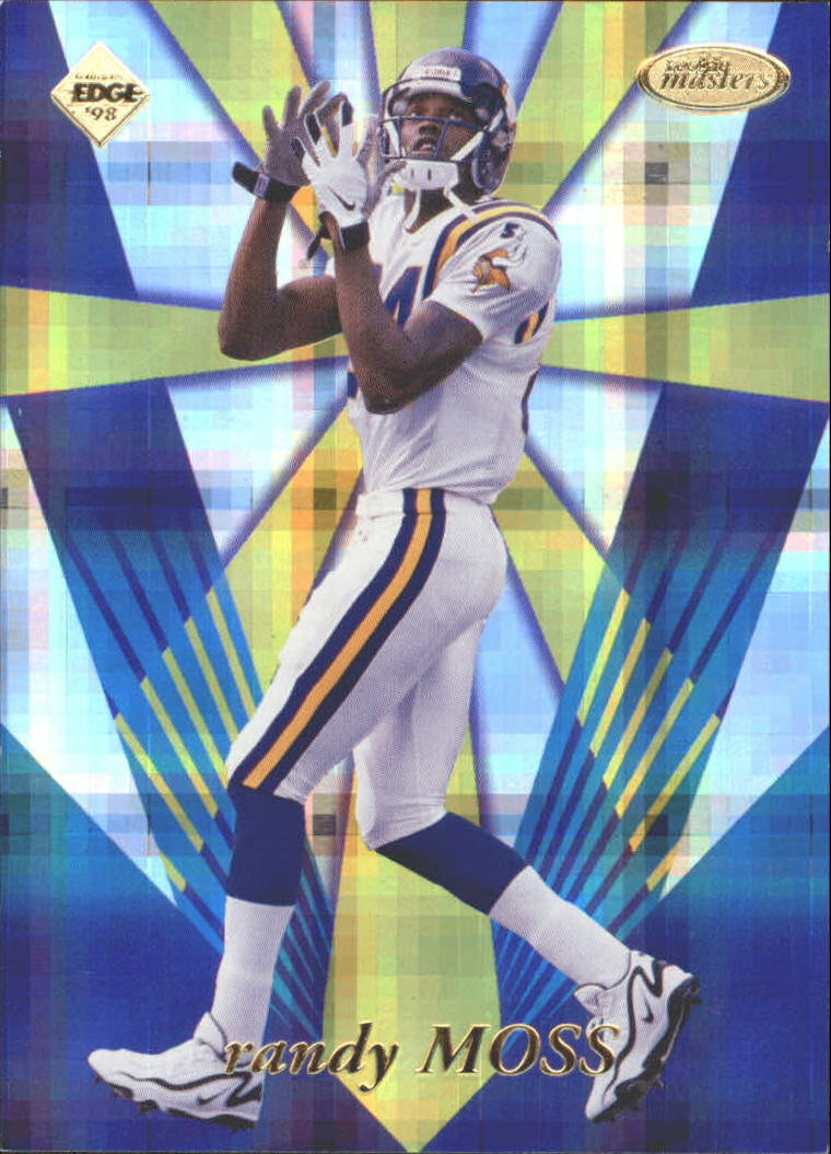 1998 Collector's Edge Masters Rookie Masters Previews #RM5 Randy Moss