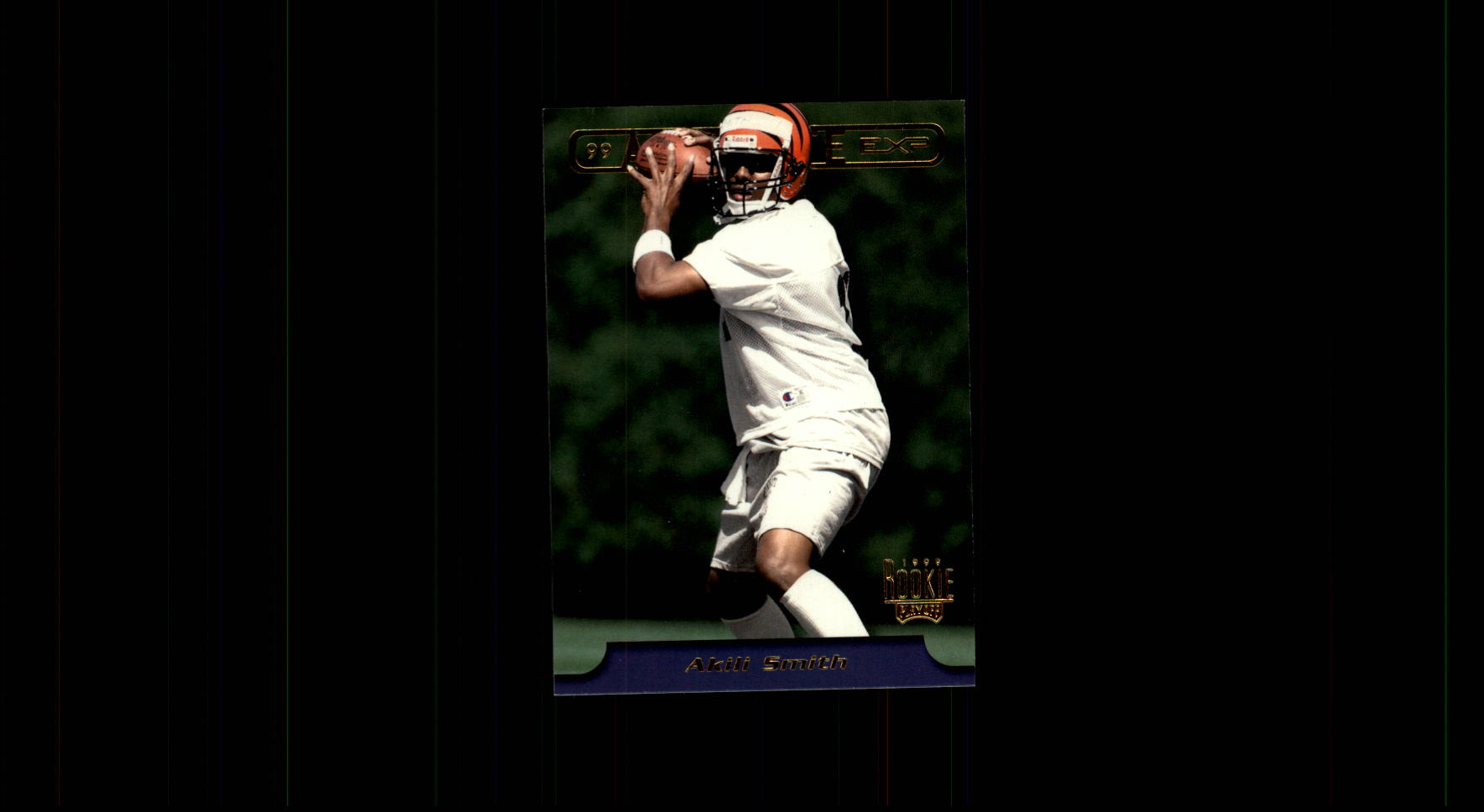 1999 Absolute EXP #3 Akili Smith RC