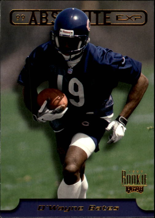 1999 Absolute EXP #24 D'Wayne Bates RC