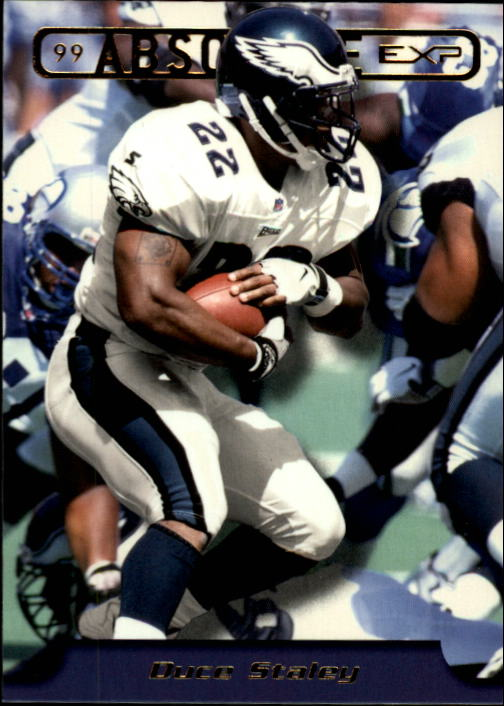 1999 Absolute EXP #157 Duce Staley
