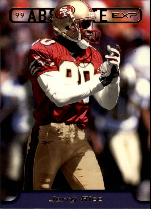 1999 Absolute EXP #171 Jerry Rice