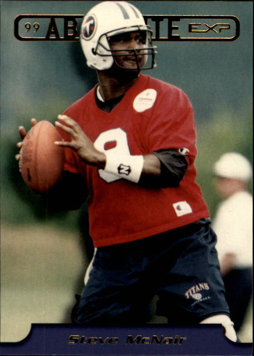 1999 Absolute EXP #192 Steve McNair