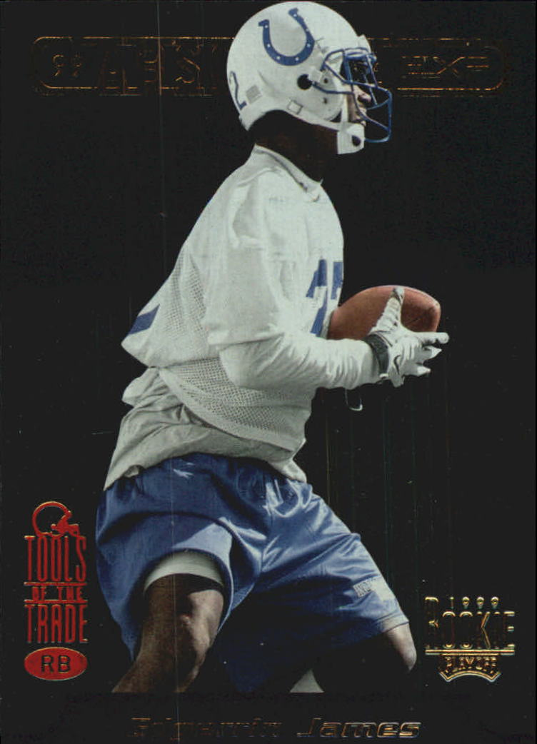 1999 Absolute EXP Tools of the Trade #4 Edgerrin James