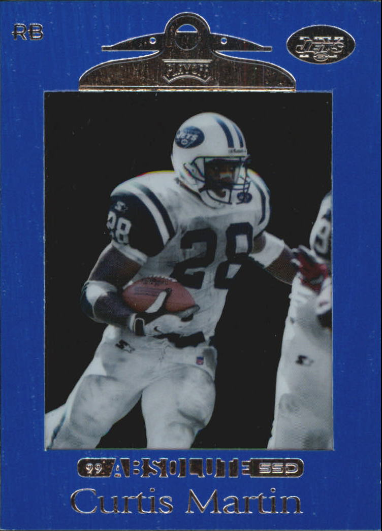 1999 Absolute SSD #74 Curtis Martin