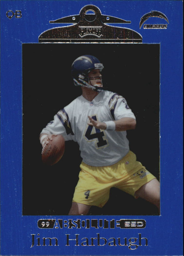 1999 Absolute SSD #84 Jim Harbaugh