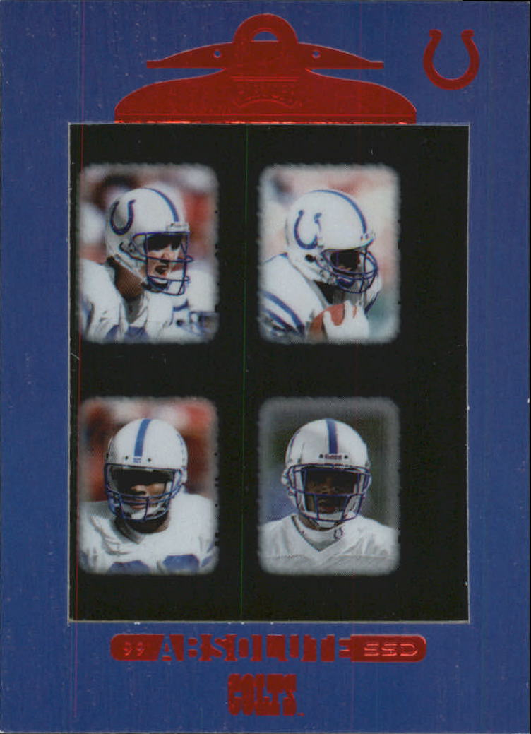 1999 Absolute SSD #142 Colts CL