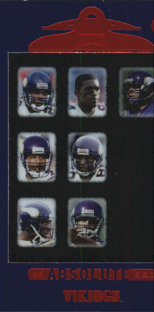 1999 Absolute SSD #146 Vikings CL