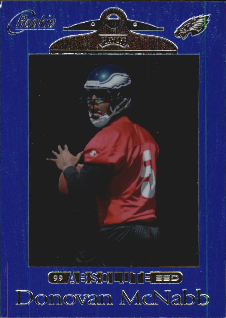 1999 Absolute SSD #162 Donovan McNabb RC