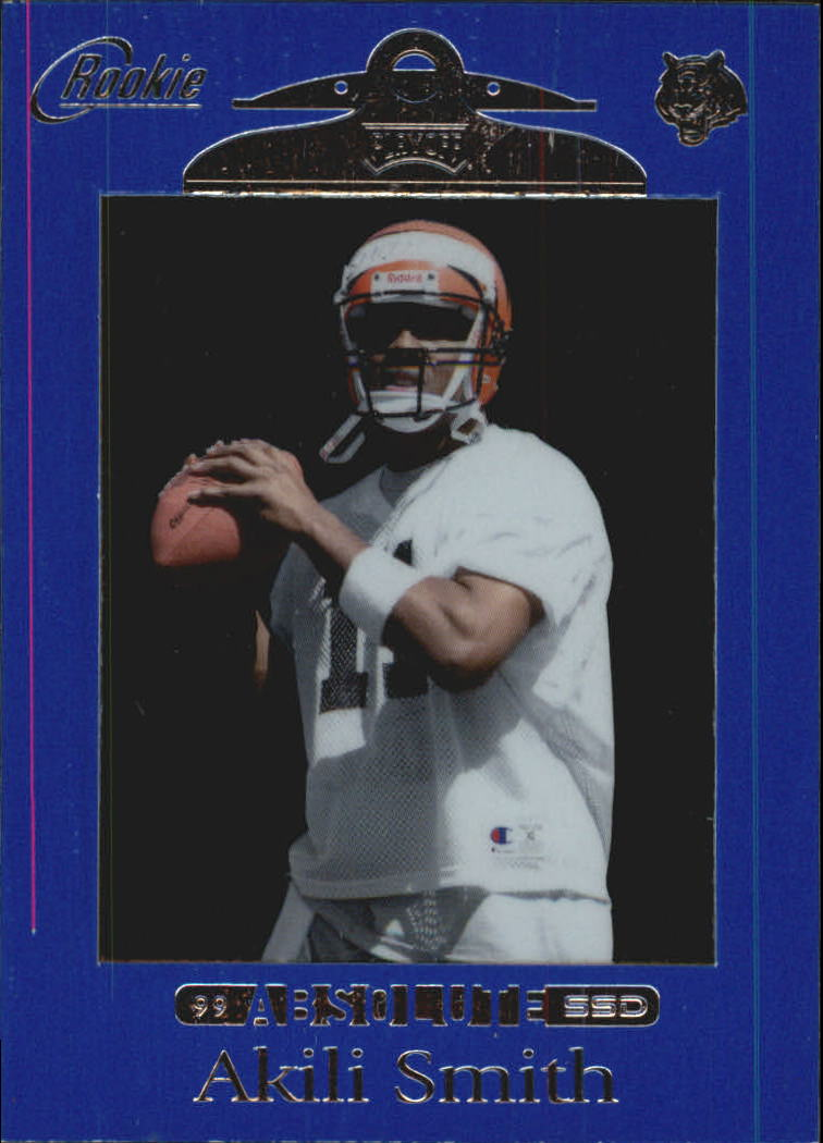 1999 Absolute SSD #163 Akili Smith RC