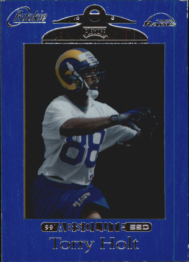 1999 Absolute SSD #166 Torry Holt RC
