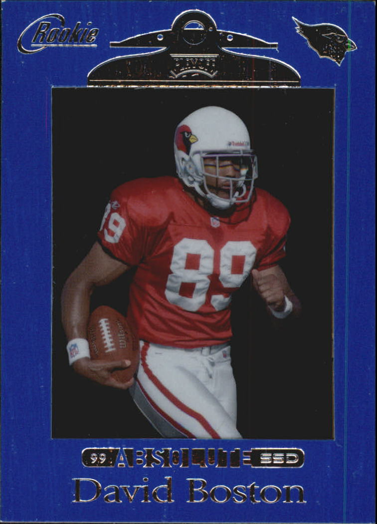 1999 Absolute SSD #168 David Boston RC