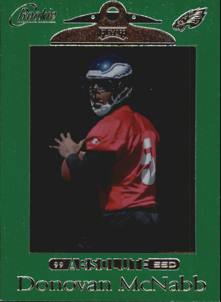 1999 Absolute SSD Green #162 Donovan McNabb