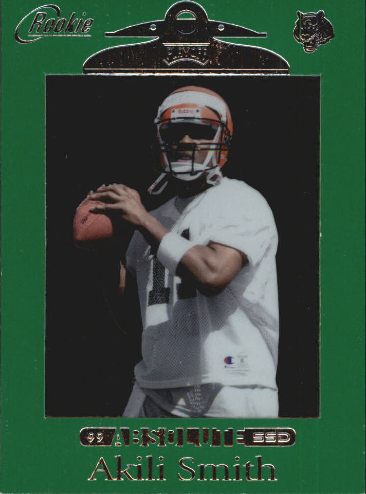 1999 Absolute SSD Green #163 Akili Smith