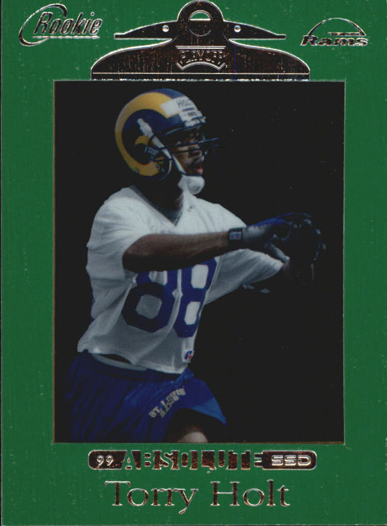 1999 Absolute SSD Green #166 Torry Holt