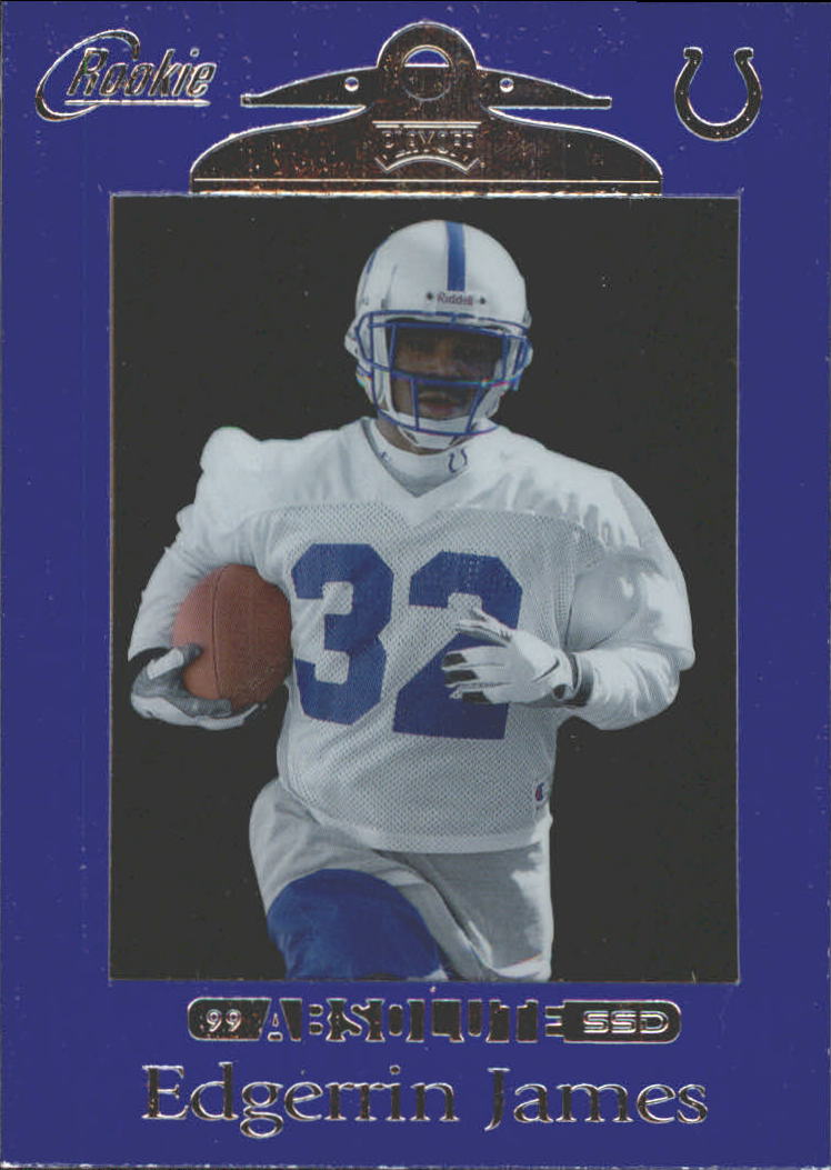 1999 Absolute SSD Purple #164 Edgerrin James