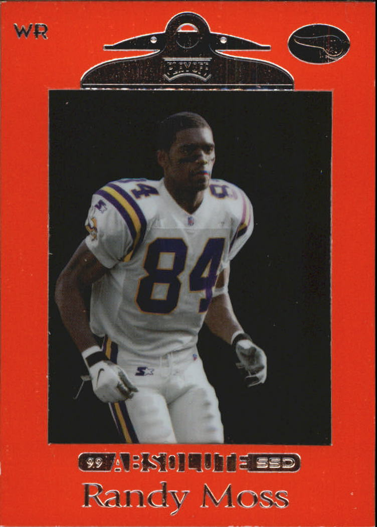 1999 Absolute SSD Red #63 Randy Moss