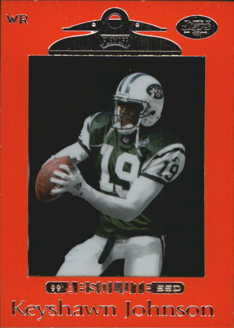 1999 Absolute SSD Red #73 Keyshawn Johnson
