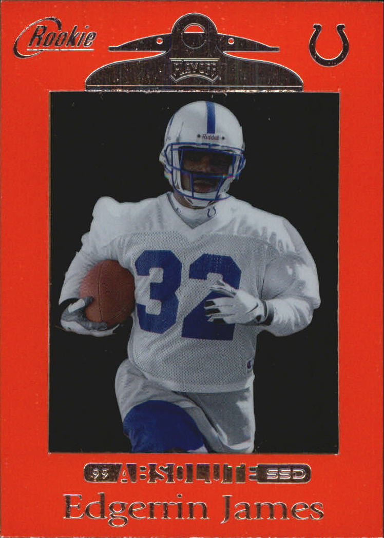 1999 Absolute SSD Red #164 Edgerrin James