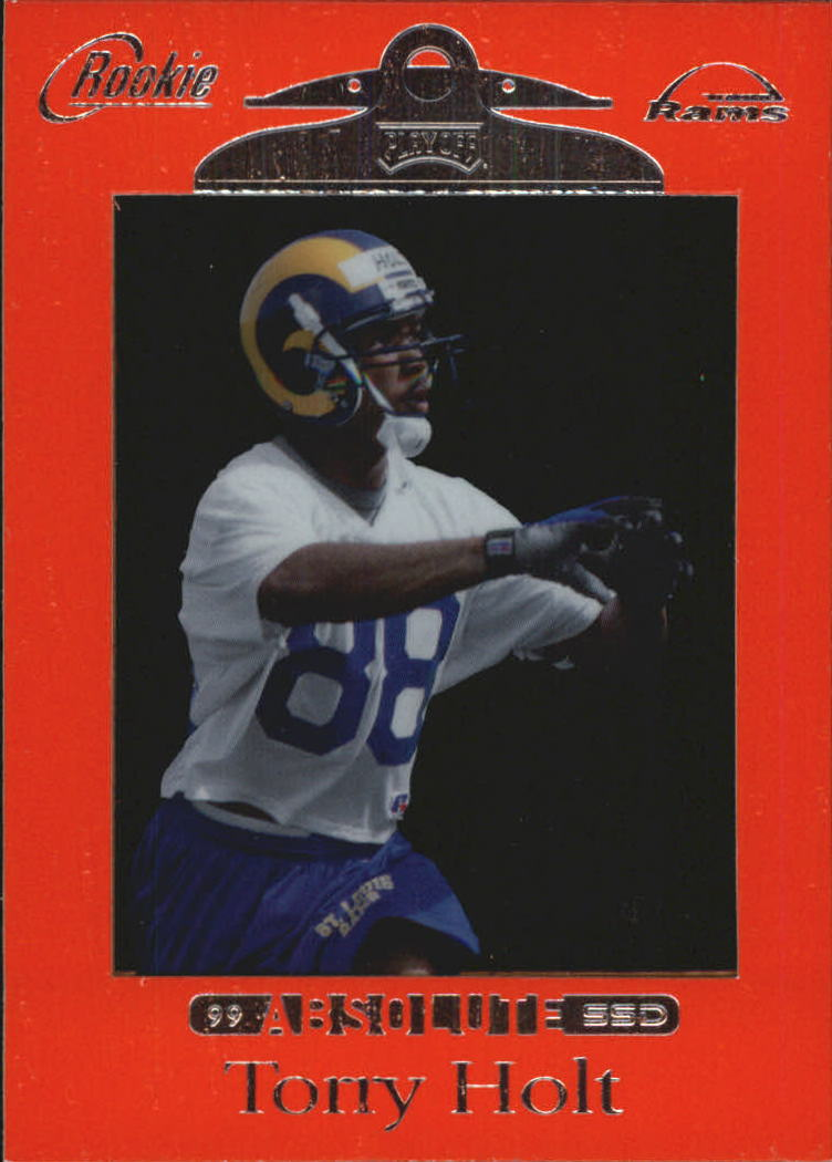 1999 Absolute SSD Red #166 Torry Holt
