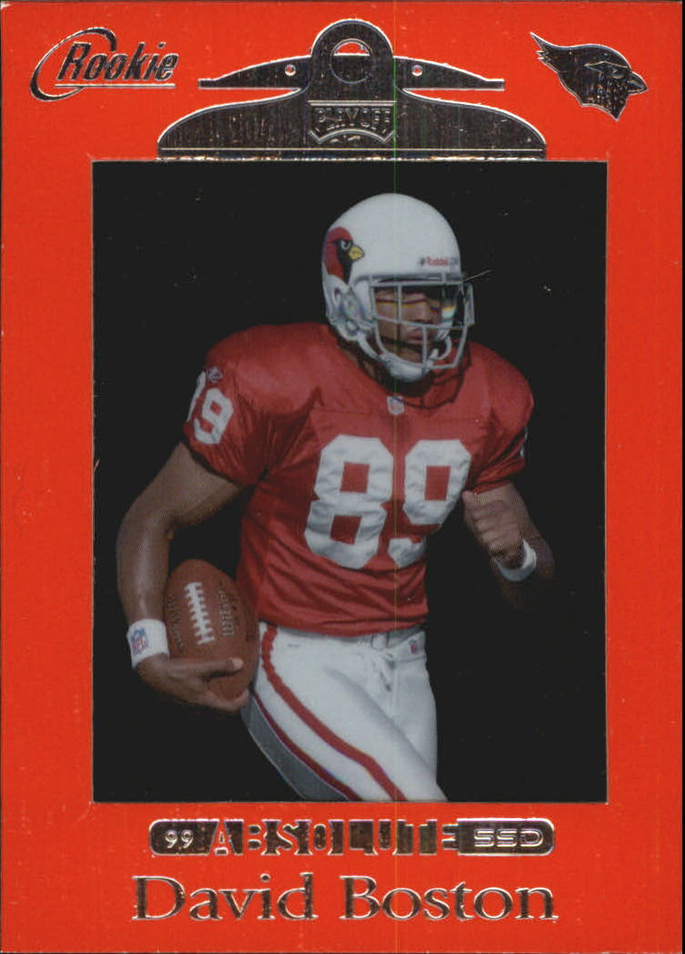 1999 Absolute SSD Red #168 David Boston