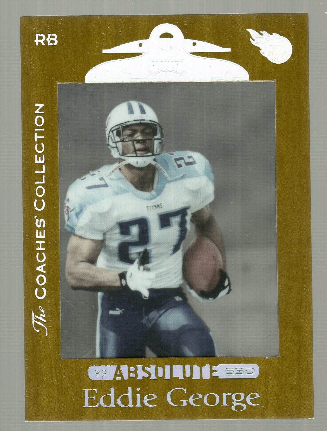 1999 Absolute SSD Coaches Collection Silver #106 Eddie George