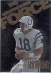 1999 Absolute SSD Force #AF13 Peyton Manning