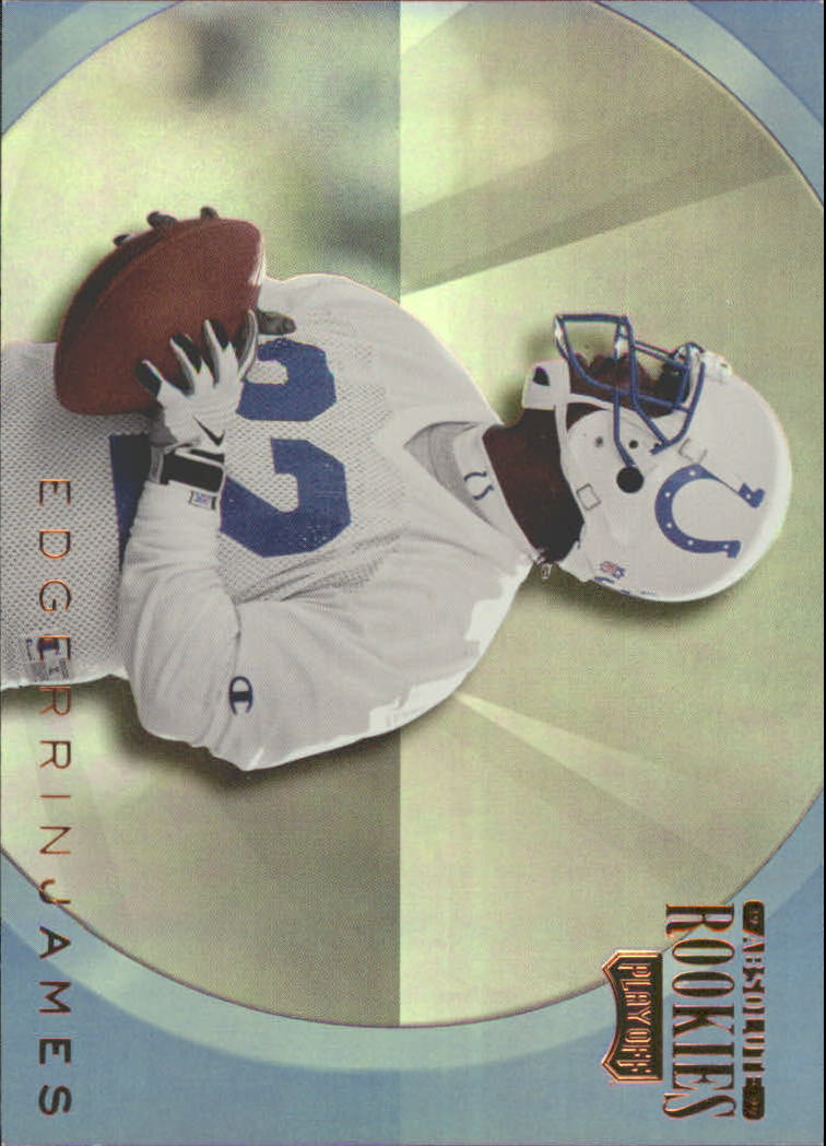 1999 Absolute SSD Rookies Inserts #AR19 Edgerrin James