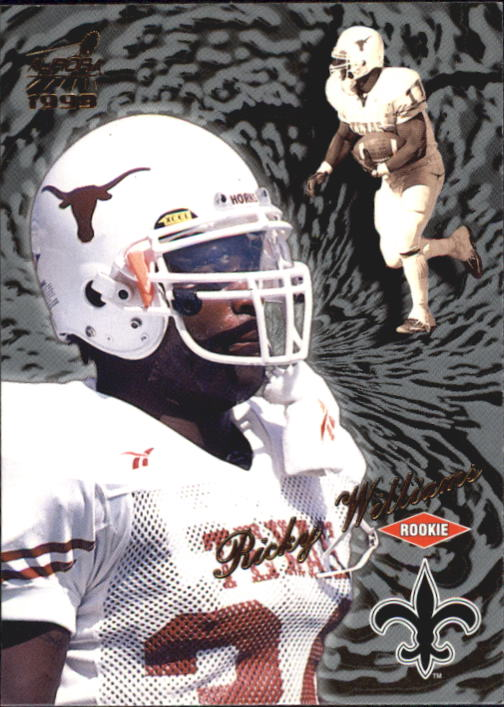 1999 Aurora #94 Ricky Williams RC