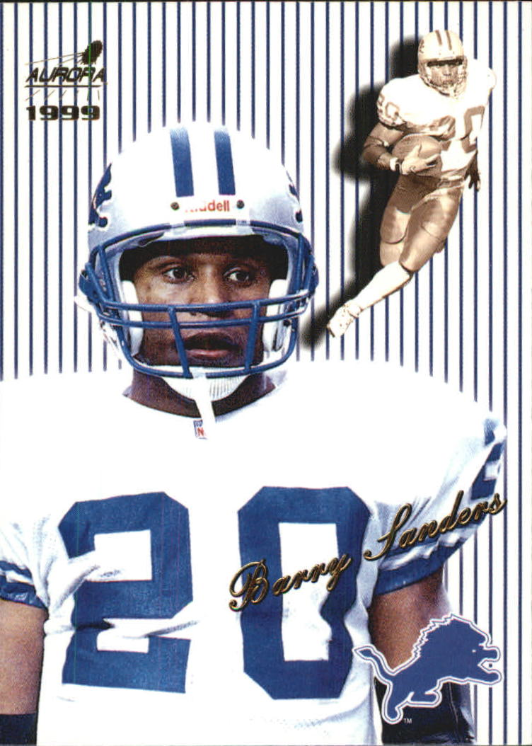 1999 Aurora Pinstripes #55 Barry Sanders