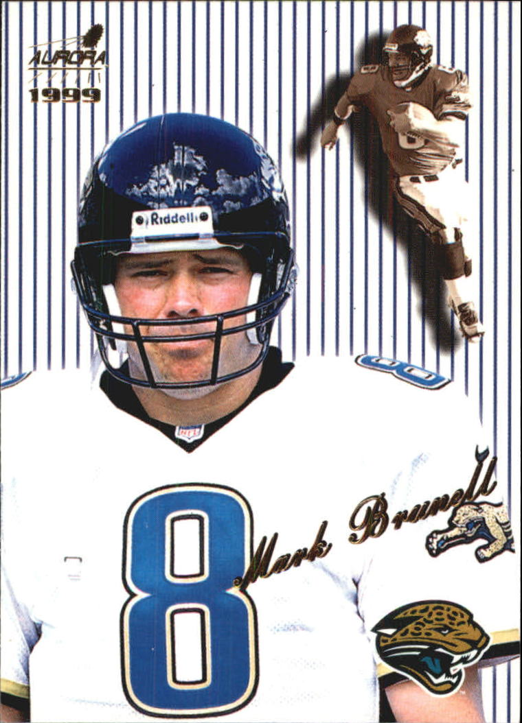1999 Aurora Pinstripes #66 Mark Brunell