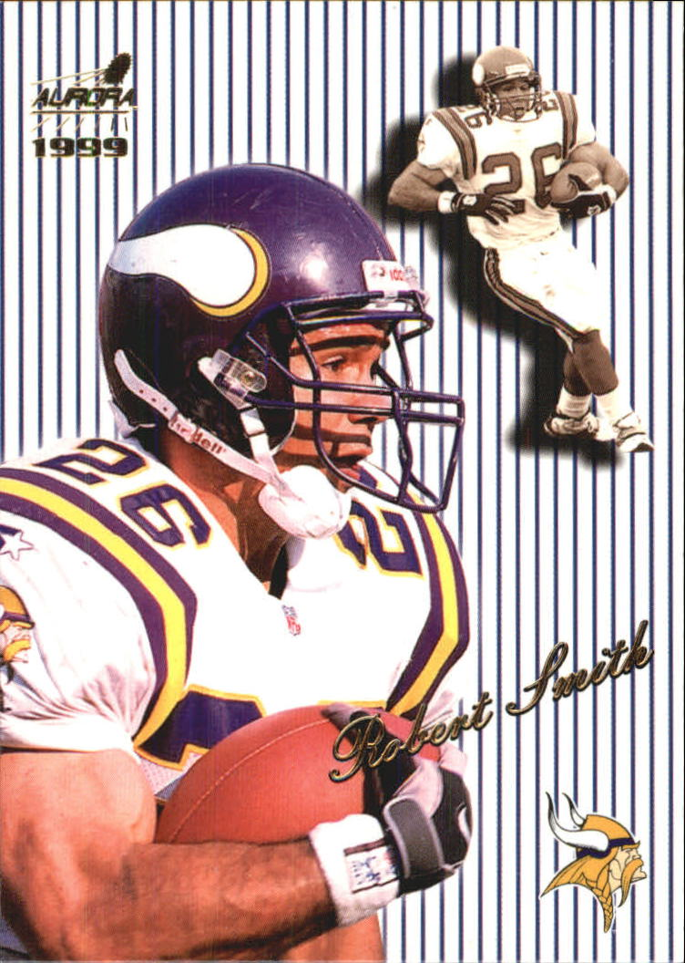 1999 Aurora Pinstripes #85 Robert Smith