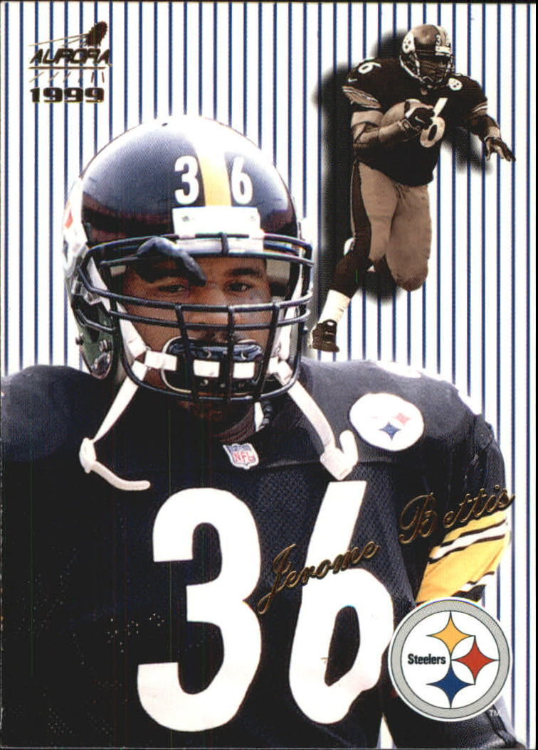1999 Aurora Pinstripes #113 Jerome Bettis