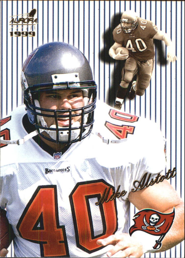 1999 Aurora Pinstripes #137 Mike Alstott