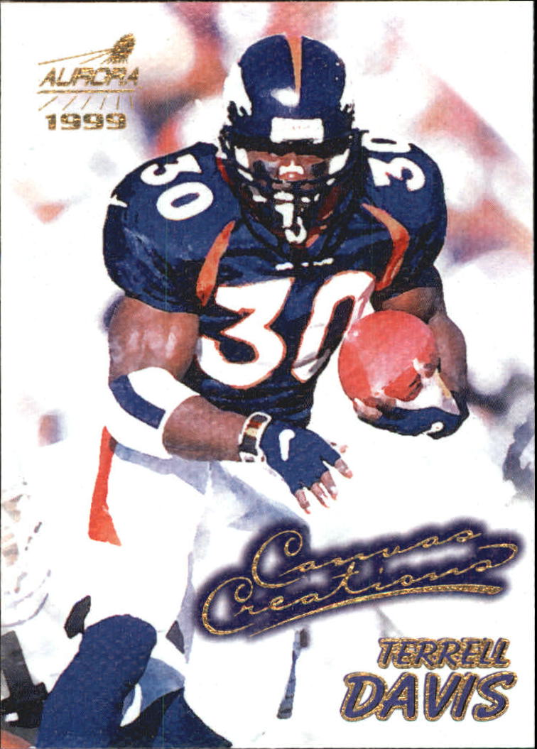 1999 Aurora Canvas Creations #2 Terrell Davis