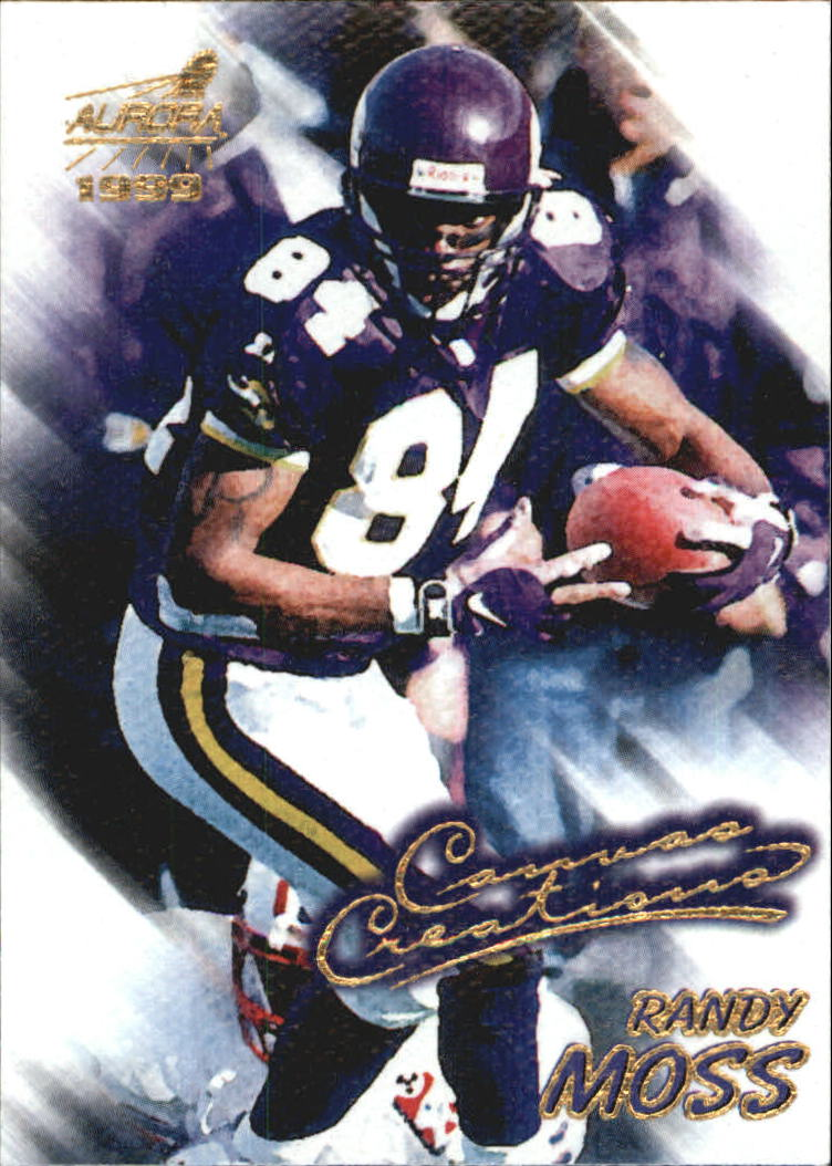 1999 Aurora Canvas Creations #7 Randy Moss