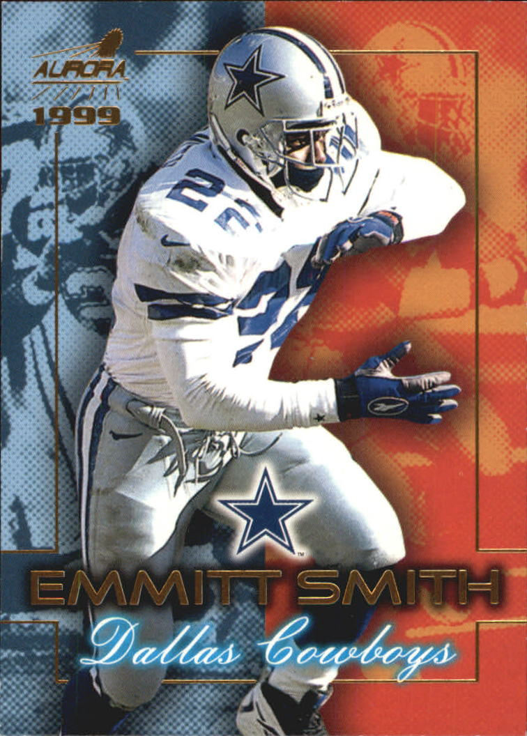 1999 Aurora Championship Fever #5 Emmitt Smith